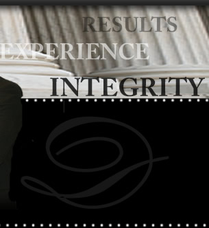 Results, Experience and Integrity
